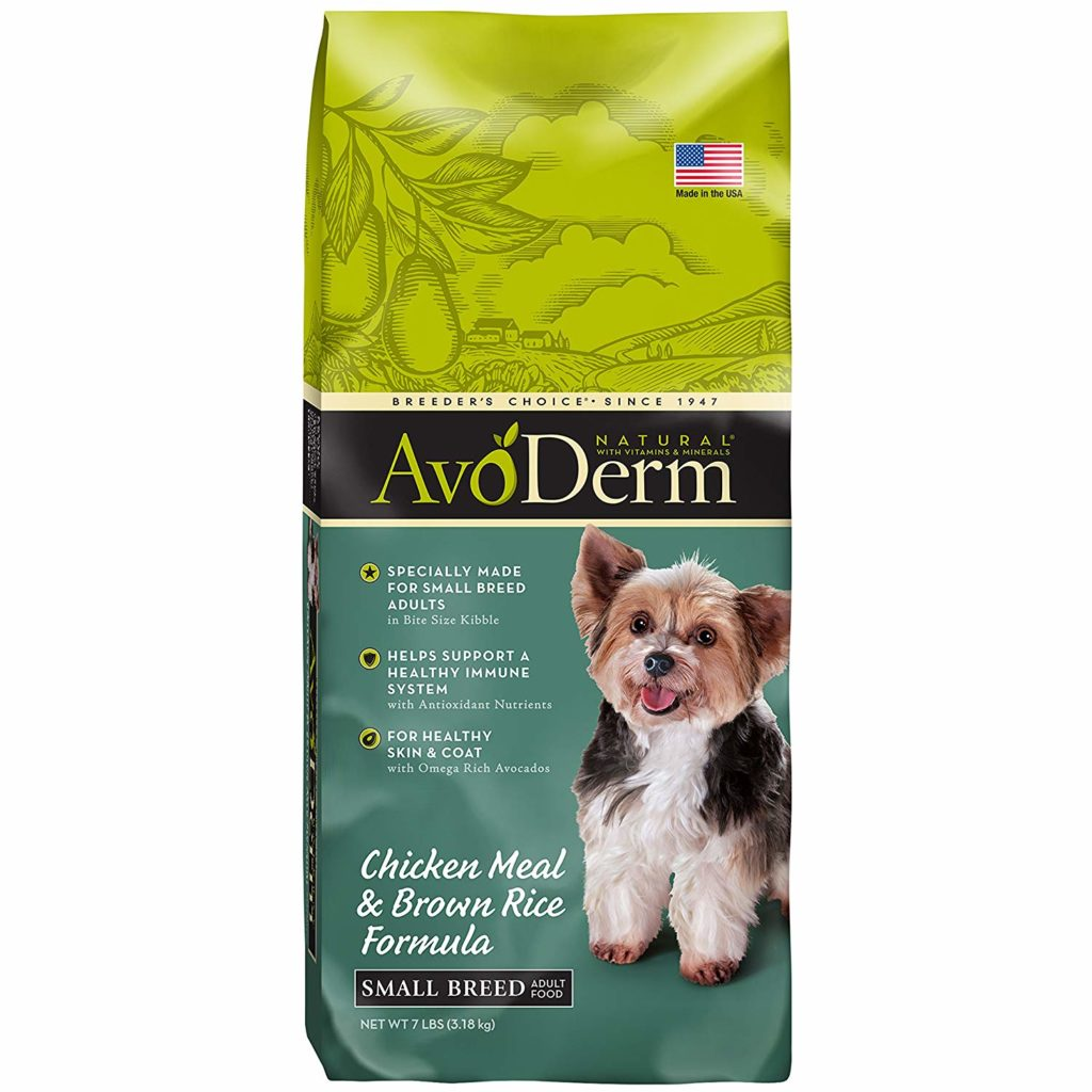 french bulldog food avoderm